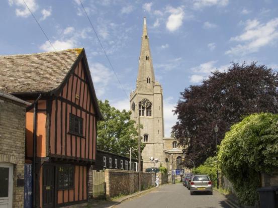 Godmanchester scene church