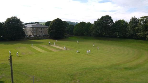 Cricket Pitch View