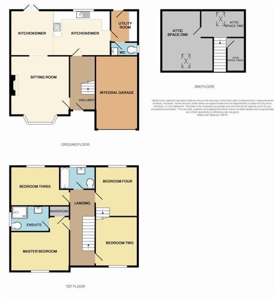 Plots 1 & 3 Floor Plan