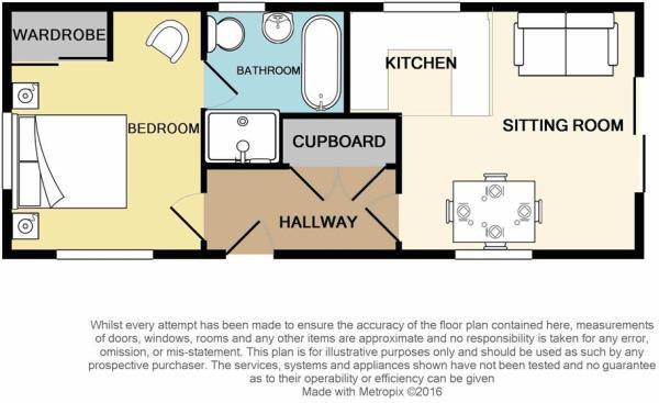 The Masham: One Bedroom