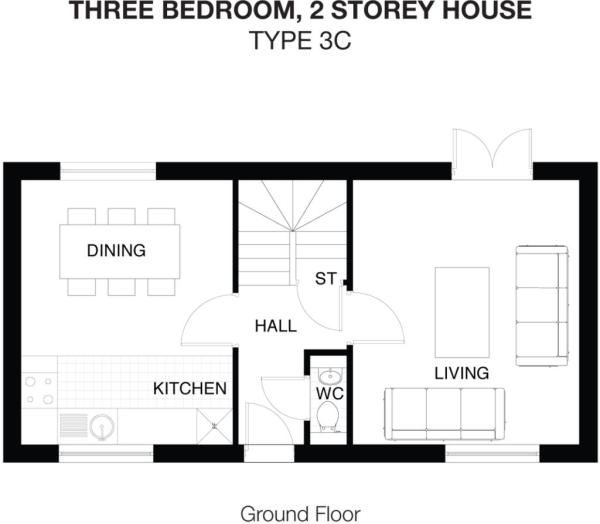Type 3C Ground Floor