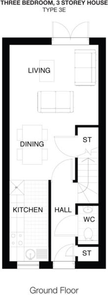 Type 3E Ground Floor
