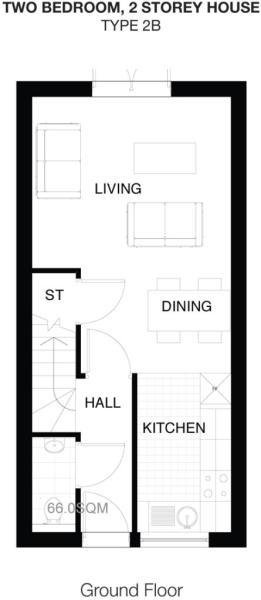 Type 2B Ground Floor