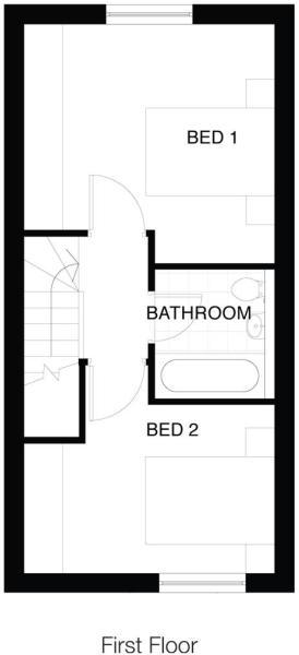 Type 2B First Floor