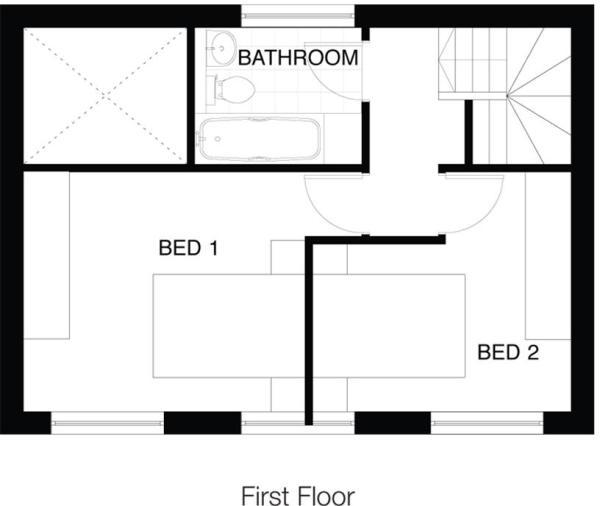 Type 2A 1st Floor