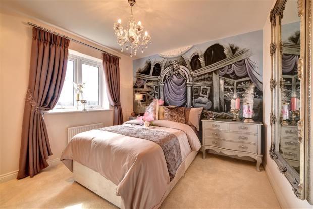 Image shows Haddenham show home, Brunton Grange