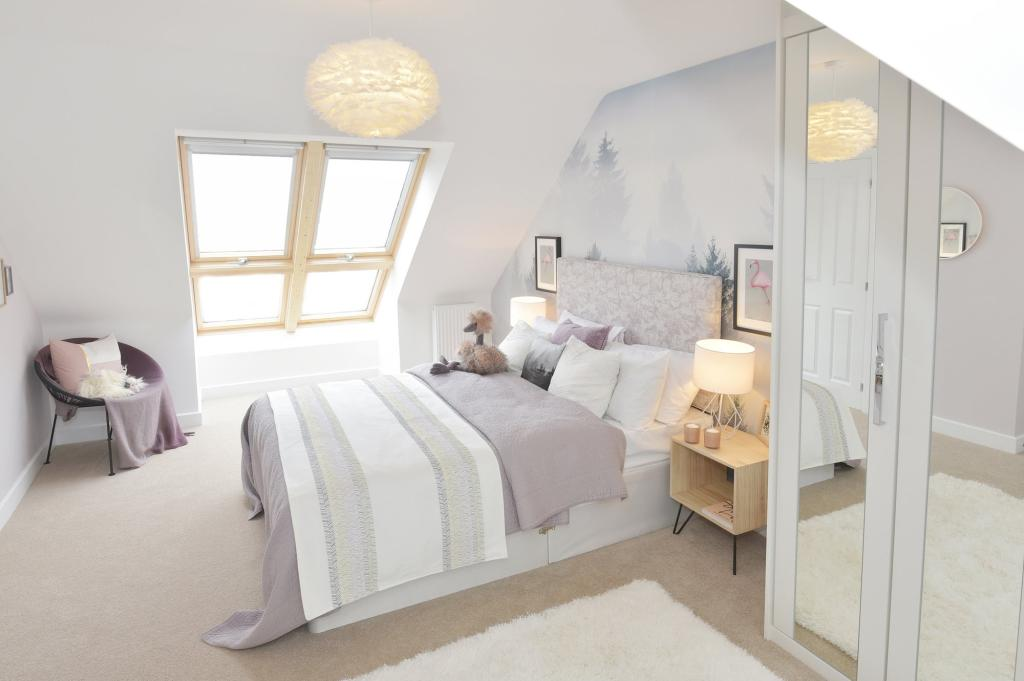 Buckingham Show Home - Top Floor Bedroom