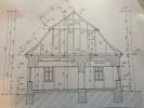 Side elevation plan