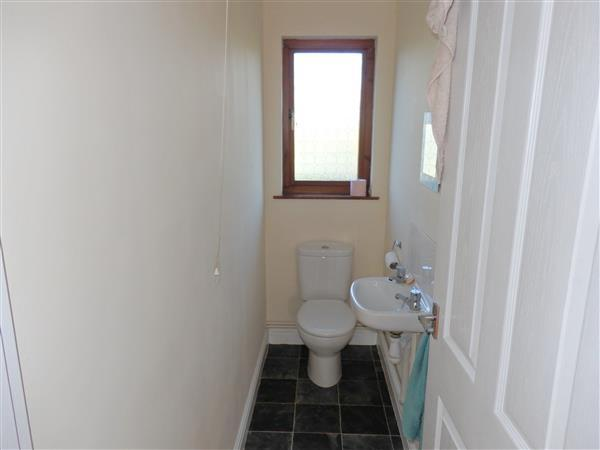 CLOAKROOM AND TOILET