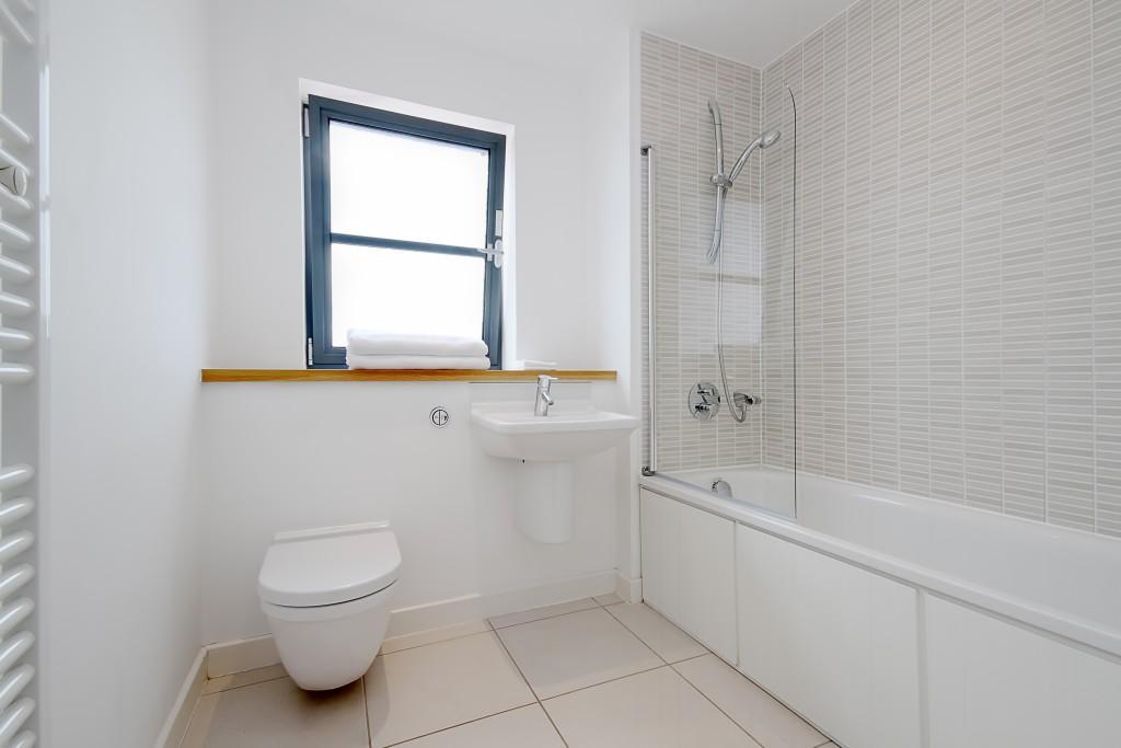 White Tilled Bathroom