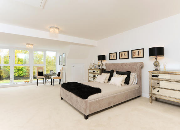 Spacious Master Bed