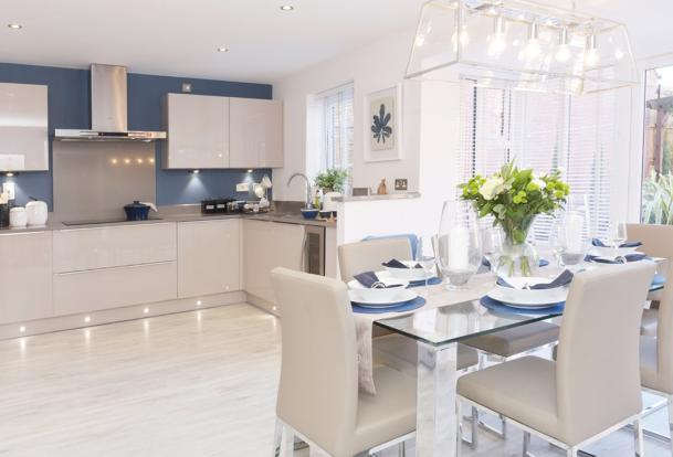 The Chimes Holden Show Home Kitchen