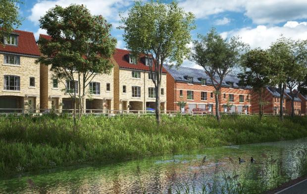 Canal Front CGI