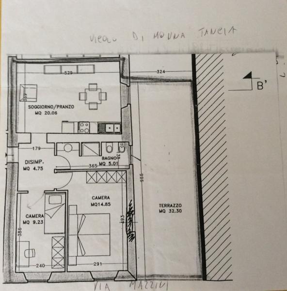 Floorplan of the fla