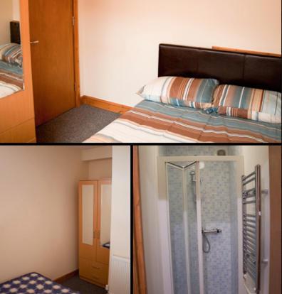 Bathroom, Bedroom