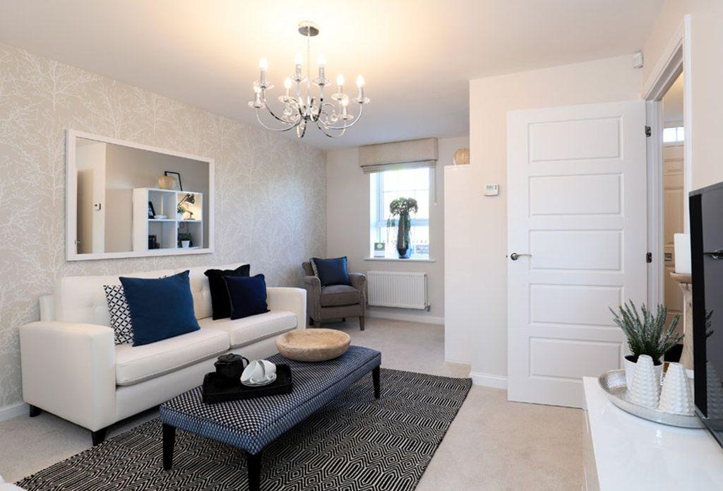 Finchley Show Home lounge