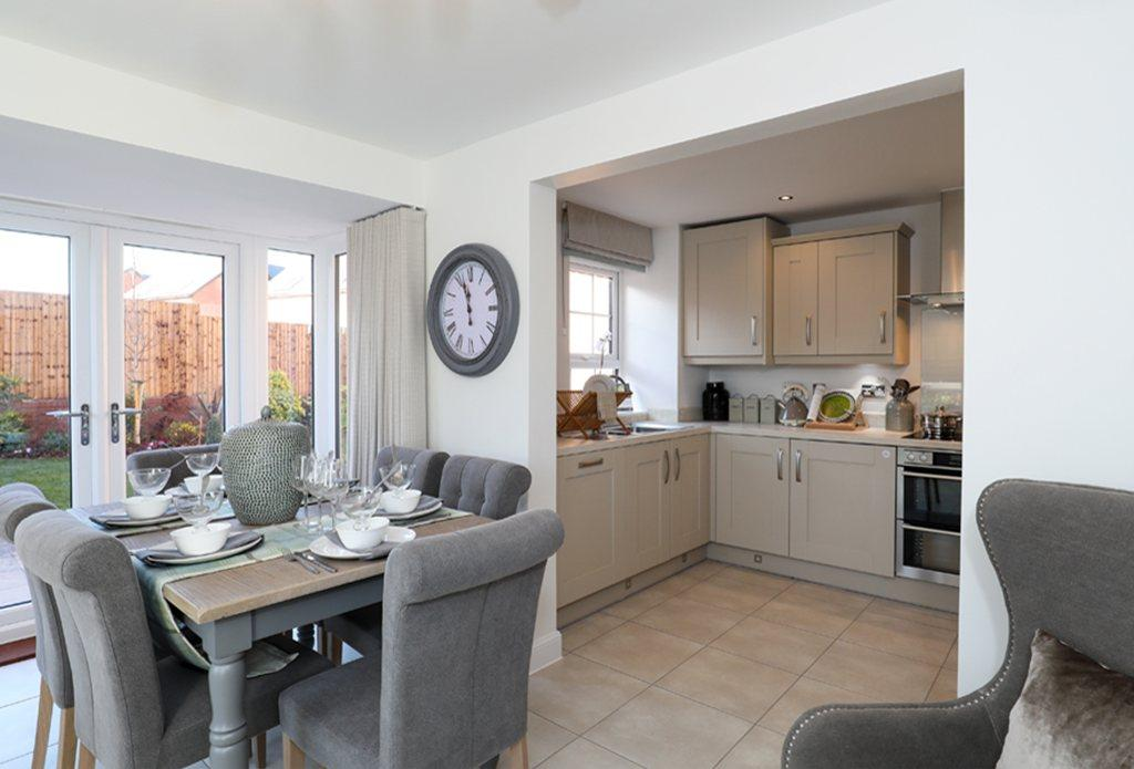 Hawick Show Home kitchen/diner