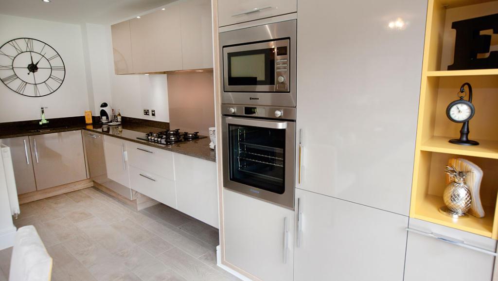 large designer kitchen