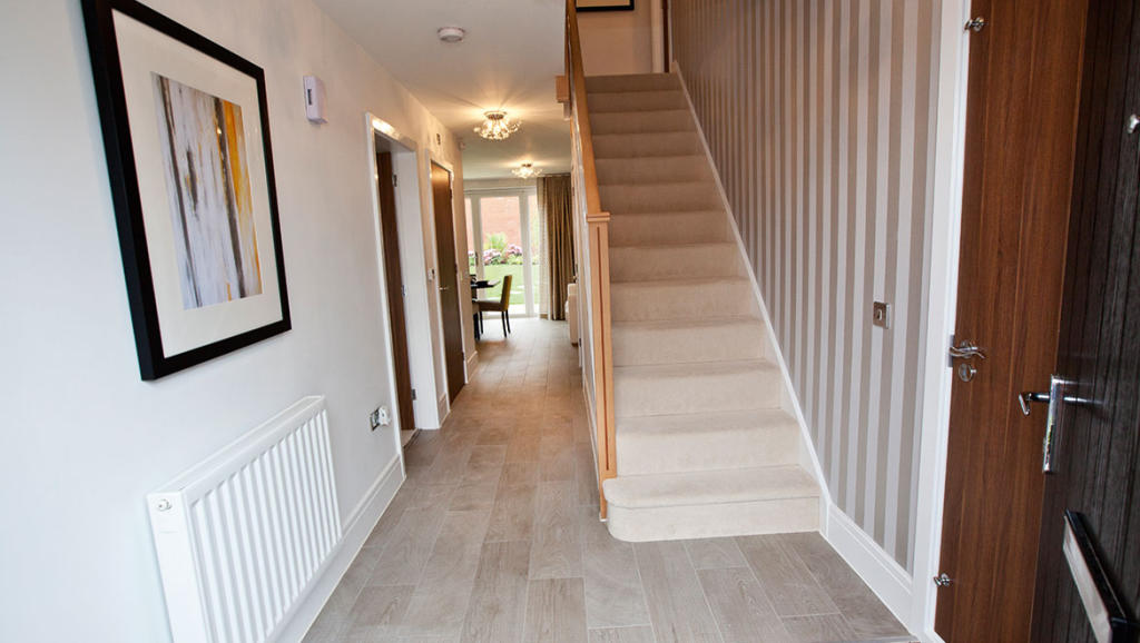 Typical Avant hallway