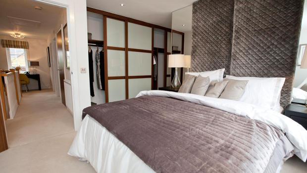 large designer bedroom