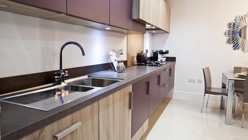 Designer kitchen new homes for sale Mapplewell