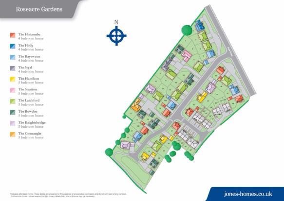 Roseacre Site Plan