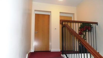 External hallway