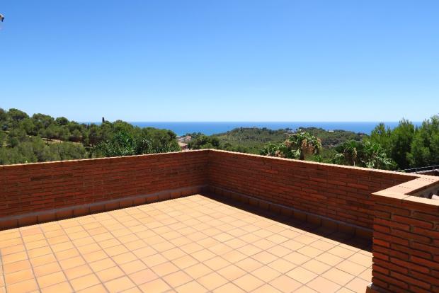 Terrace- sea view