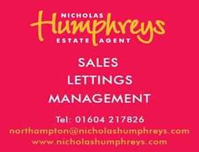 Get brand editions for Nicholas Humphreys, Northampton and Cambridge