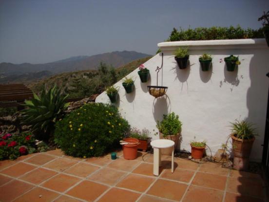 Bottom terrace