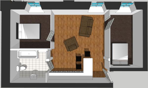 Flat 3 Floor Plan