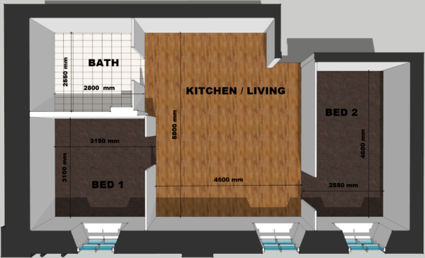 Flat 8 Floor Plan
