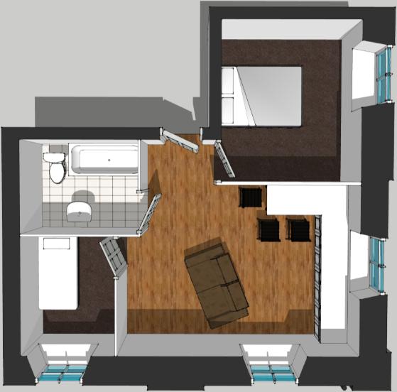 Flat 6 Floor Plan