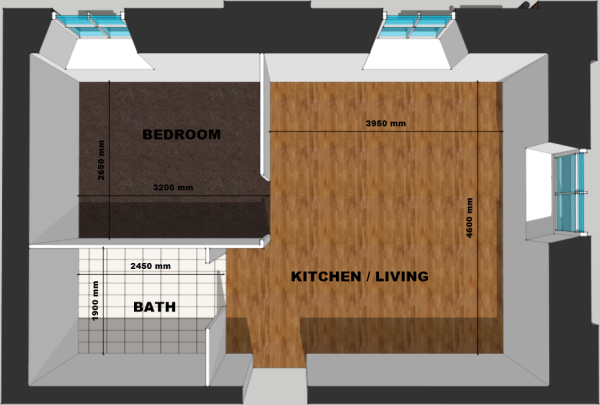 Flat 5 Floor Plan