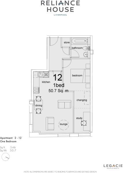 Apartment 212 Plan