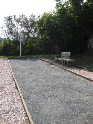 French Boules Court