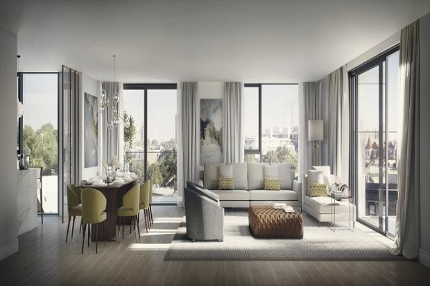 4 bedroom penthouse for sale in chelsea harbour design