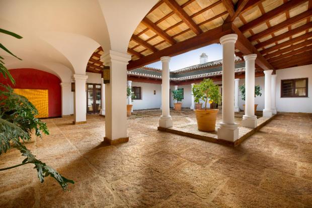 Entrance Courtyard