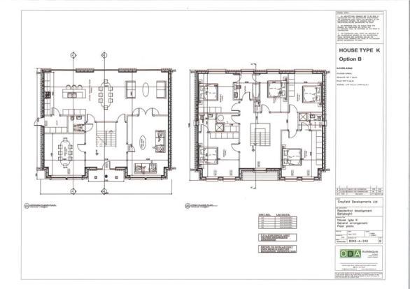 House Type K Layout