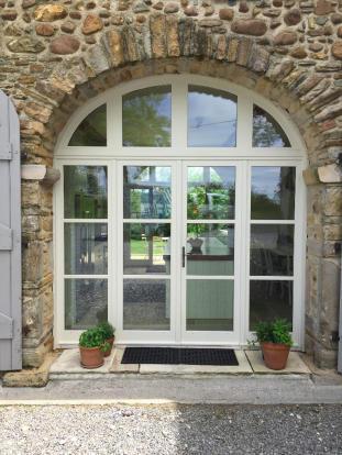 Front kitchen door