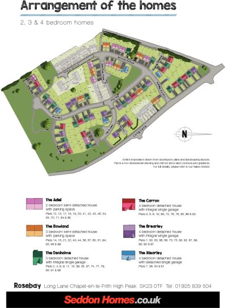 Rosebay site plan