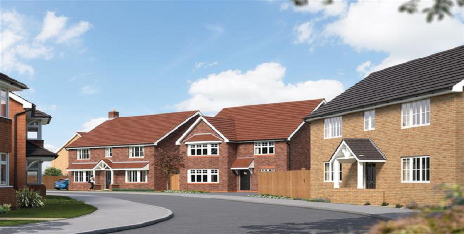 Campton Fields New Homes Development By Bovis Homes Northern Home Counties