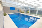 Pool covered