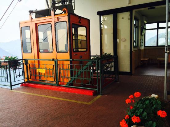 Cable Car to Argegno