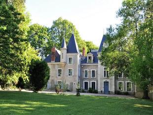 Castle in Gannat, Allier, Auvergne