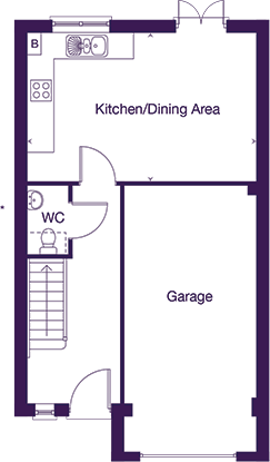 Gladstone ground floor plan