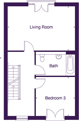 Gladstone first floor plan
