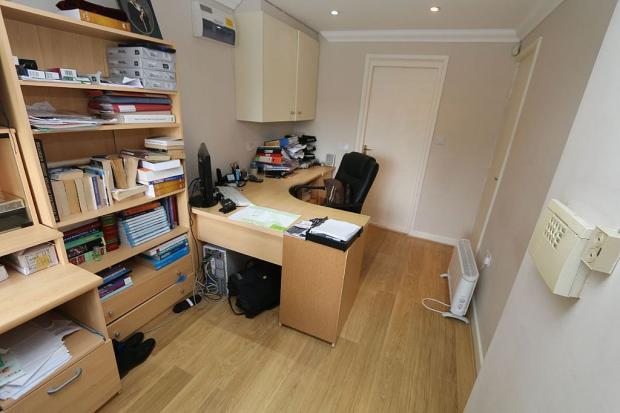 currently used as a second reception/playroom