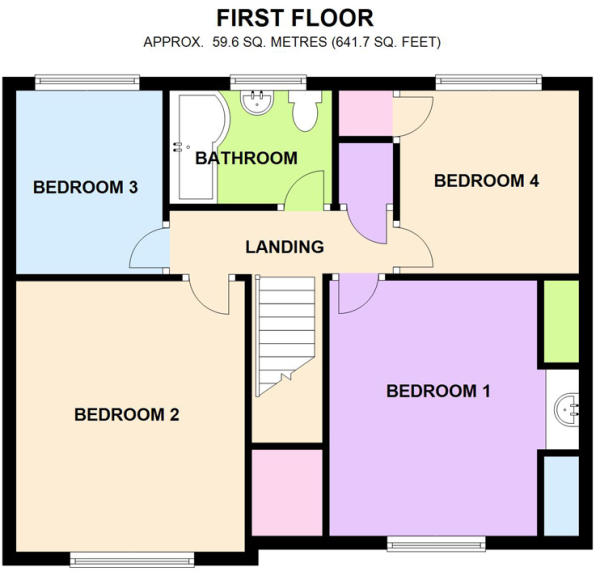 4 bedroom detached house for sale in farthing lane for 16 brookers lane floor plans
