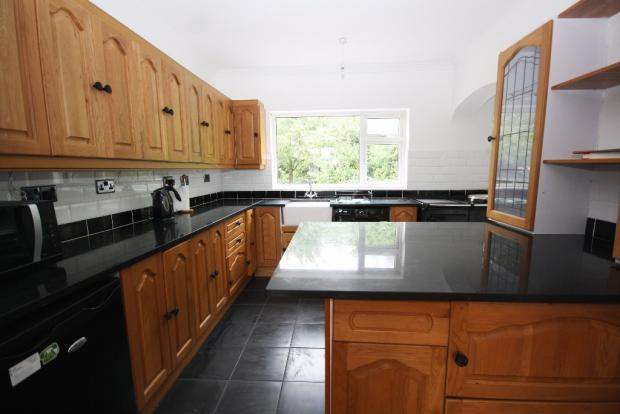 Granite/ Oak Kitchen